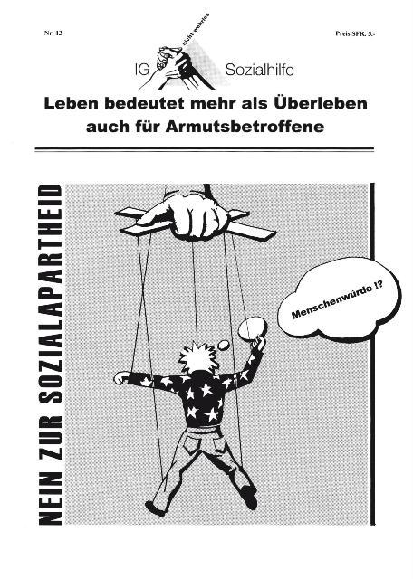 IG-Zeitung, Titelblatt, Nr. 13, 2008
