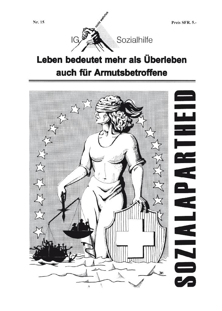IG-Zeitung, Titelblatt, Nr. 15, 2010